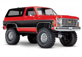 TRAXXAS Радиоуправляемая машина TRX-4 Chevrolet Blazer Red