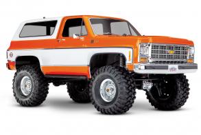 TRAXXAS Радиоуправляемая машина TRX-4 Chevrolet Blazer Orange