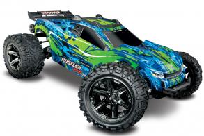 TRAXXAS Rustler 4X4 VXL Green