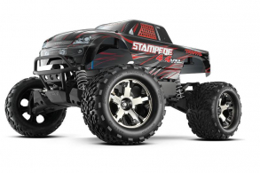 TRAXXAS Stampede 4x4 VXL Brushless 1:10 RTR Fast Charger TSM Black