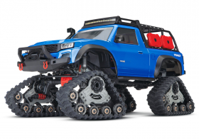 TRAXXAS 1/10 Scale 4X4 Trail Truck Blue