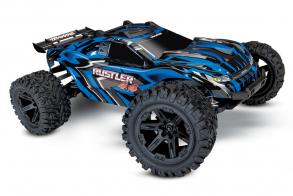 TRAXXAS Rustler 4X4 4WD Blue