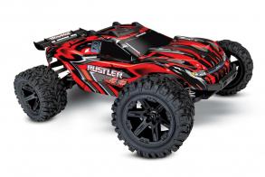 TRAXXAS Rustler 4X4 4WD Red