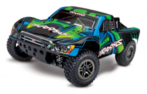 TRAXXAS Slash Ultimate 1:10 4WD VXL TQi Bluetooth Module OBA Green