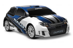 TRAXXAS LaTrax Rally 1:18 4WD Fast Charger Blue
