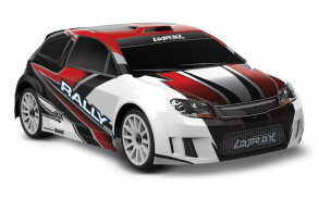 TRAXXAS LaTrax Rally 1:18 4WD Fast Charger Red