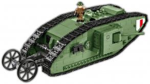 COBI 605  PCS  HC  GREAT  WAR  /2972/  TANK  MARK