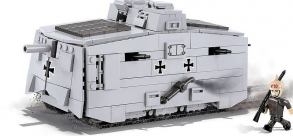 COBI 575   PCS   HC   GREAT   WAR   /2982/   STURMPANZERWAGEN   A7V