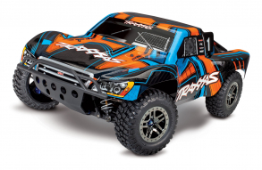 TRAXXAS Slash Ultimate 1:10 4WD VXL TQi Bluetooth Module OBA Orange