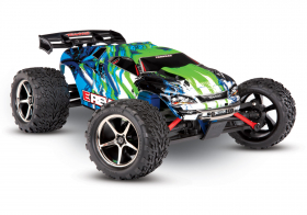 TRAXXAS E-Revo 1:16 4WD Brushed TQ Fast Charger Green