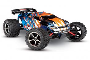 TRAXXAS E-Revo 1:16 4WD Brushed TQ Fast Charger Orange