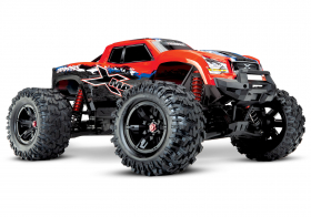 TRAXXAS X-MAXX 1:5 4WD 8S Brushless TQi Ready to Bluetooth Module TSM Red