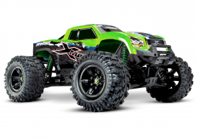 TRAXXAS X-MAXX 1:5 4WD 8S Brushless TQi Ready to Bluetooth Module TSM Green
