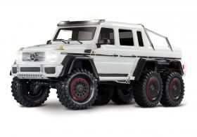 TRAXXAS Радиоуправляемая машина TRX-6 Mercedes-Benz G 63 AMG 6x6 White