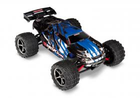 TRAXXAS E-Revo 1:16 4WD VXL TQi Ready to Bluetooth Module Fast Charger TSM Blue
