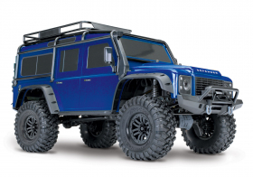 TRAXXAS TRX-4 1:10 Land Rover 4WD Scale and Trail Crawler Blue