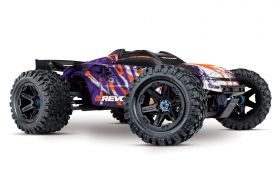 TRAXXAS E-Revo VXL Brushless: 1:10 Scale 4WD Brushless Purple