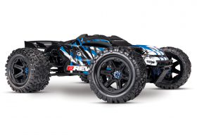 TRAXXAS E-Revo VXL Brushless: 1:10 Scale 4WD Brushless Blue