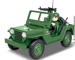 COBI 91 PCS HC VIETNAM WAR /2230/ M151 A1 MUTT