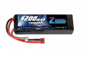 Zeee Power Аккумулятор Zeee Power 4s 14.8v 5200mah 60c SOFT + TRX Plug