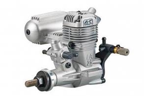 O.S. Engines MAX-25LA II (22F) W/E-2030 SILENCER