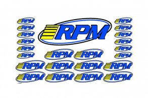 RPM RPM Pro Logo Decal Sheets