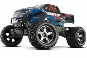 TRAXXAS Stampede 4x4 VXL Brushless 1:10 RTR Fast Charger TSM Blue