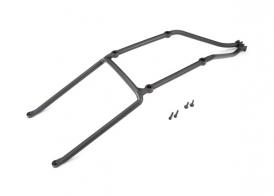TRAXXAS запчасти Body support, rear/ 3x15mm CS (2) / 3x15mm flat-head machine (2) (fits X-Maxx®)