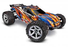 TRAXXAS Rustler 4X4 VXL Orange