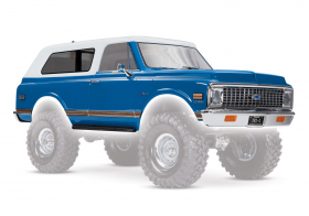 TRAXXAS запчасти BODY CHEVROLET 72 BLAZER BLUE