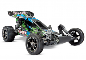 TRAXXAS Bandit VXL 1:10 2WD TQi Ready to Bluetooth Fast Charger TSM