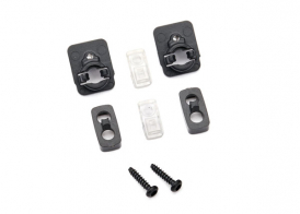 TRAXXAS запчасти Side marker light housing (2)/ mount (2)/ lens (2)/ 1.6x7 BCS (self-tapping) (2)