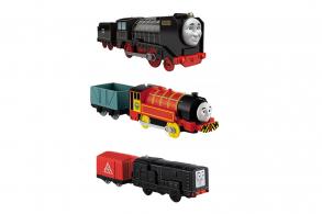 HC-Toys Игрушечный поезд color Shifters BHR15 меняющие цвет в асс-те Hot Wheels