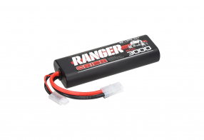 Team Orion Batteries 2S 60C Ranger LiPo Battery (7.4V/3000mAh) Tamiya Plug