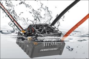Hobbywing Бесколлекторный бессенсорный влагозащищенный регулятор EZRUN MAX8 V3 для шот-корс, багги, монстров м
