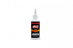 TRAXXAS запчасти Oil, shock (60 wt, 700 cSt, 60cc) (silicone)