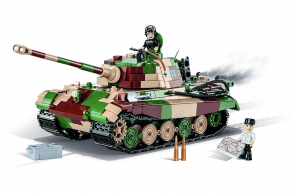COBI 1000  PCS HISTORICAL COLLECTION  /2540/  PZKPFW  VI  AUSF.BKONIGST