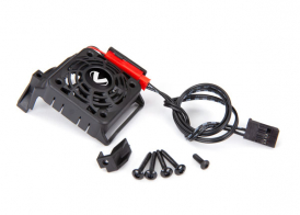 TRAXXAS запчасти Cooling fan kit (with shroud) (fits #3351R and #3461 motors) (requires #3458 heat sink to mount)