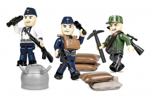 COBI 30  PCS HISTORICAL COLLECTION  /2046/  NARVIK  1940  3  FIG.