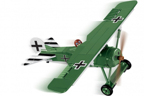 COBI 155  PCS HISTORICAL COLLECTION  /2976A/  FOKKER  E.V(D.VIII)