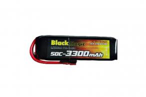 Black Magic 50C/3300mAh/3S1P/11.1V w/Deans plug
