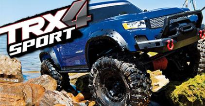 Traxxas TRX-4 Sport!