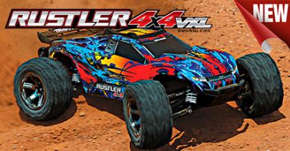 """Traxxas Rustler 4x4 - переосмысление понятия класса """"Stadium Truck"""""""