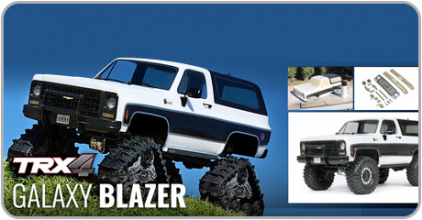 TRX-4 Chevy Blazer Galaxy Edition!